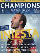 ChampionsIniesta 2012. Publicada por Joaquim Lima à(s) 15:01