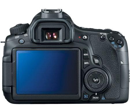 Canon EOS 60D Digital SLR Touchscreen LCD