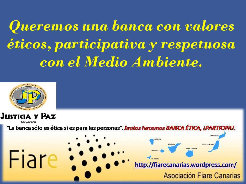 """Grupo abierto """"FIARE Canarias"""":"""