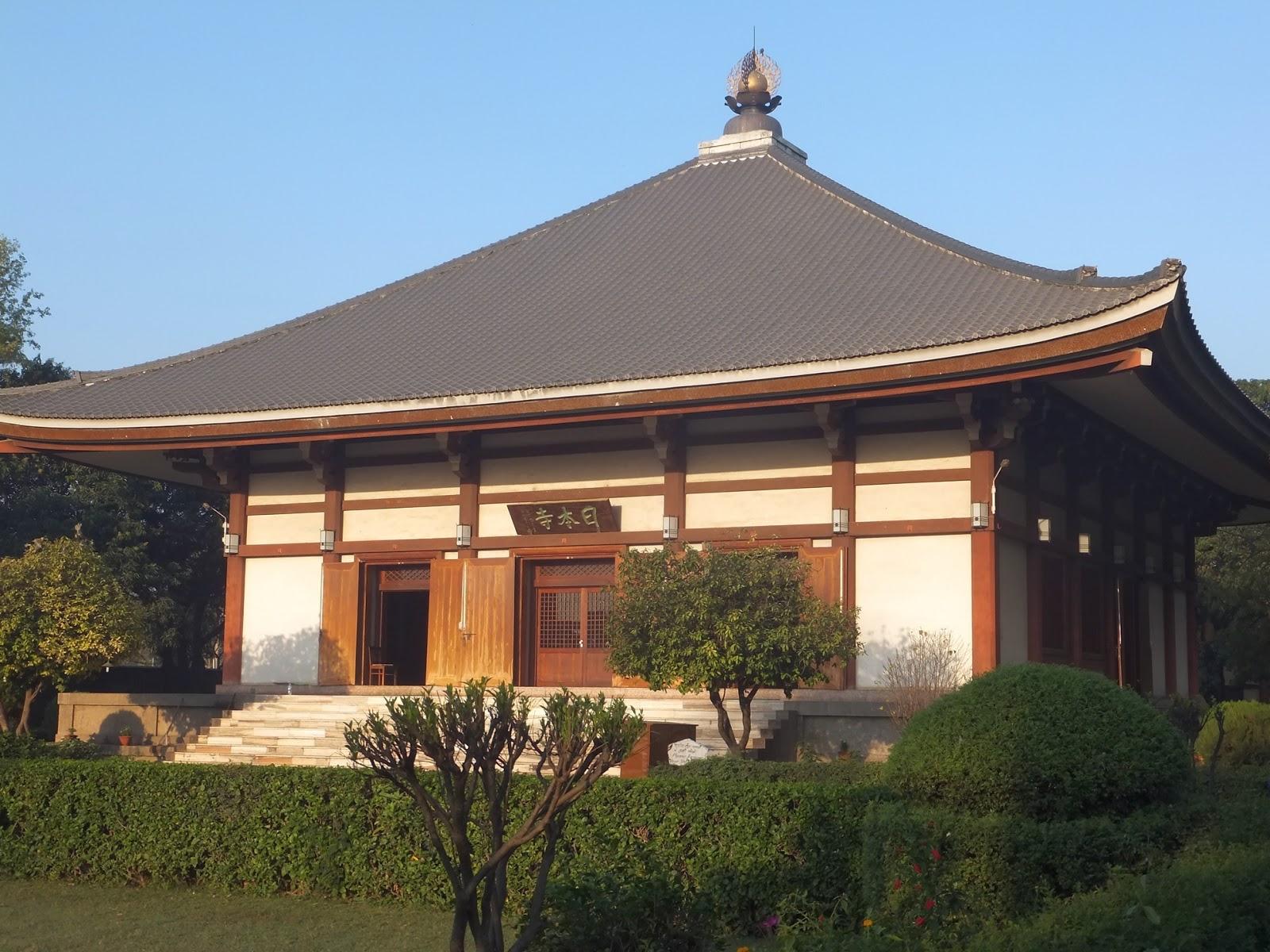 Японский монастырь в Бодх-Гае