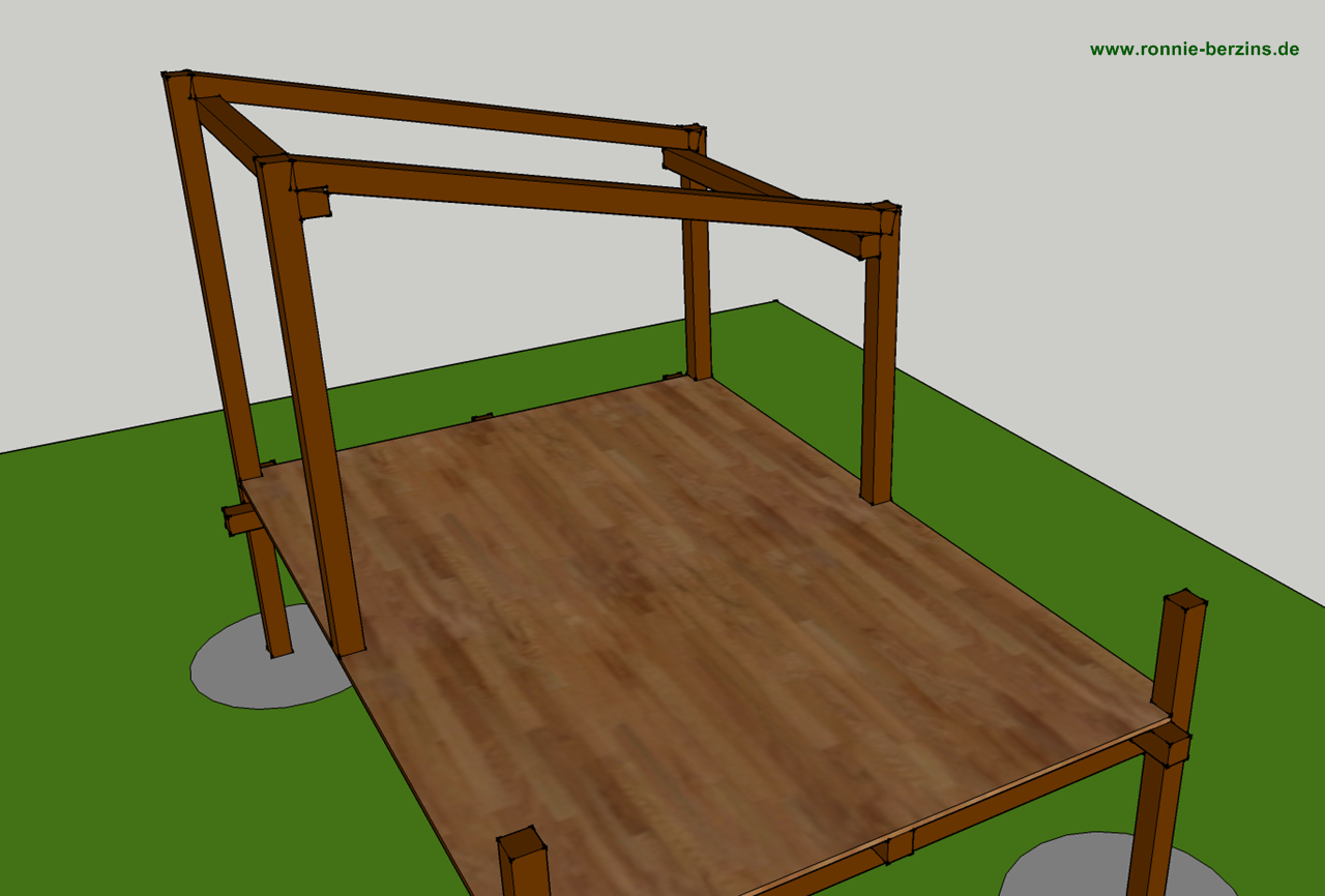 kreative kiste kinder stelzenhaus f r den garten selber bauen. Black Bedroom Furniture Sets. Home Design Ideas