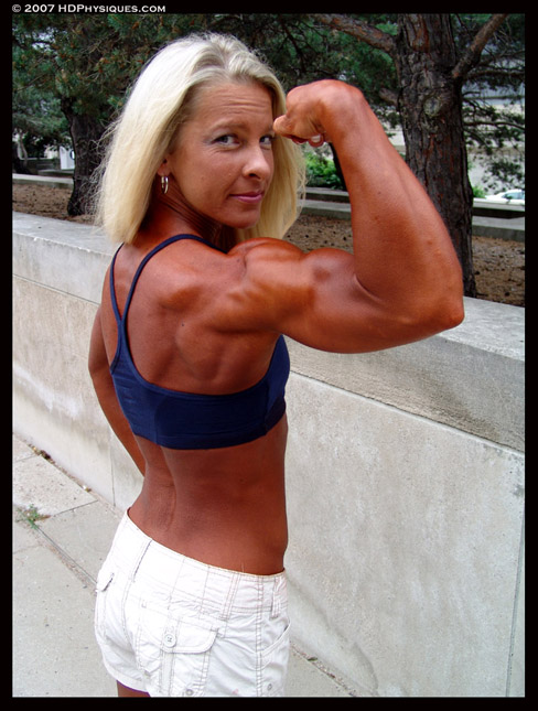 Susan Hudson Female Muscle Bodybuilding Blog HDPhysiques