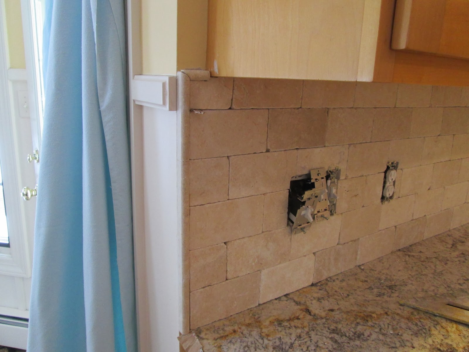 Tumbled marble backsplash completed today total labor cost 310 tumbled marble backsplash completed today total labor cost 310 ask tile excellence dailygadgetfo Gallery