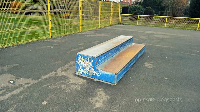 Skatepark Roubaix curb