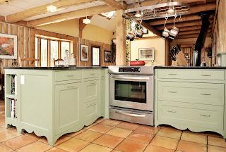 Chaletconcierge cuisine champ tre country kitchen for Armoire de cuisine style champetre