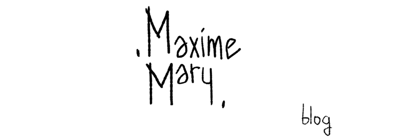 Maxime Mary Blog
