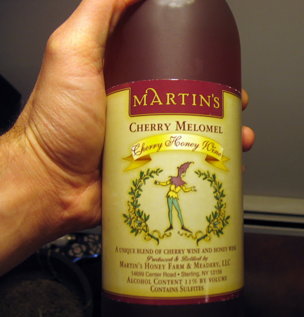 Martin's Honey Farm and Meadery Cherry Melomel
