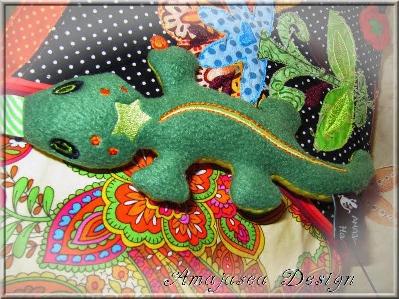 Gecko Freebie bei Annett