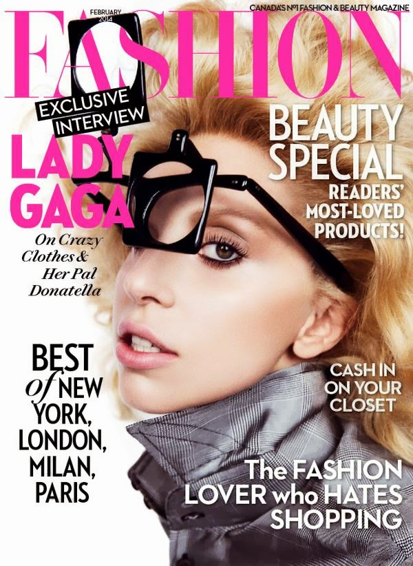 Magazine Cover : Lady Gaga Magazine Photoshoot Pics on Fashion Magazine Canada by Inez & Vinoodh February 2014