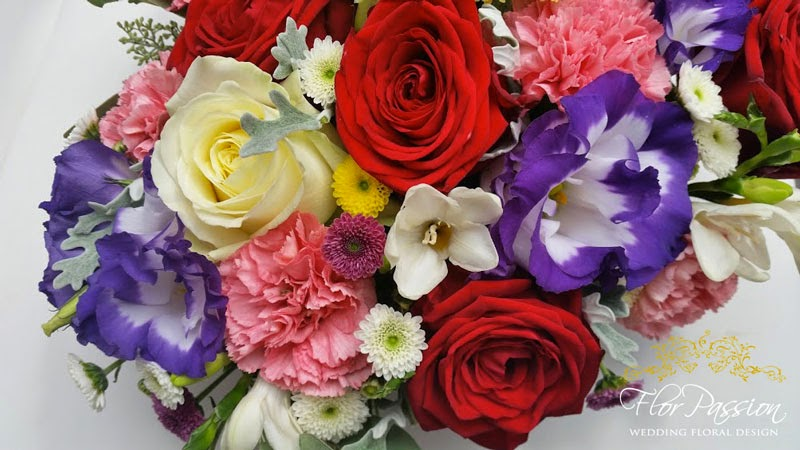Rose Avalanche E Ortensie : Florpassion italy flowers rose avalanche lisianthus