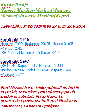 Moscow-Maribor-(Koper)-Moscow 2014
