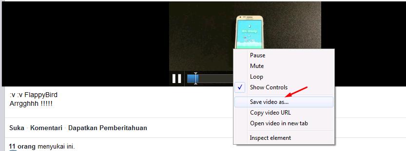 Cara Mengambil Video dari Facebook Tanpa Aplikasi