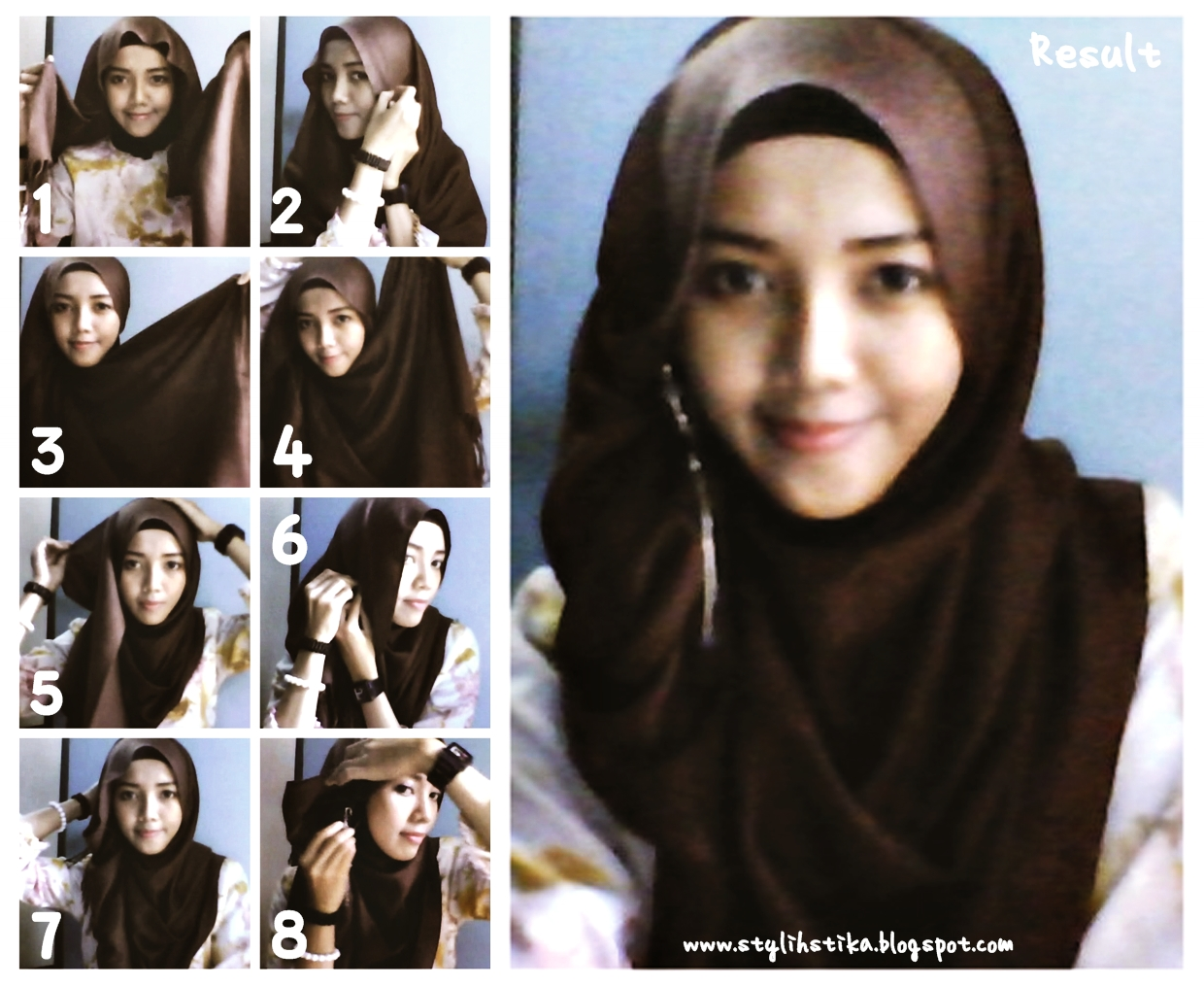 NEW JILBAB TUTORIAL PASHMINA LICIN Hijab Tips