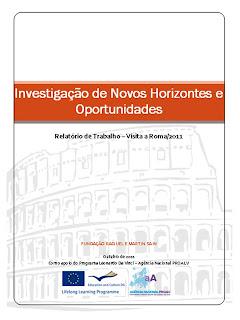 Imagem da capa do Relatório Final de Trabalho. Clique para o abrir