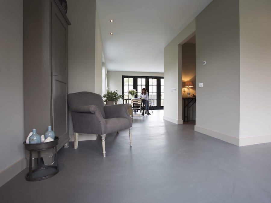 Betonlook Badkamer Maken : Wil je een betonlook vloer betonvloer