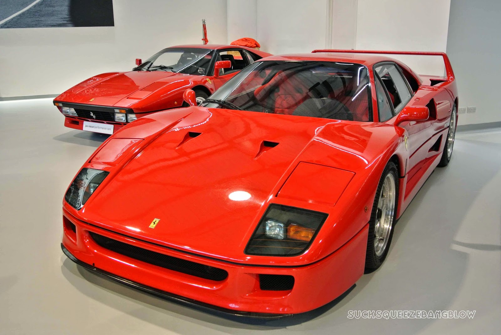 Sucksqueezebangblow 1987 ferrari f40 theres not a lot to say about the f40 that hasnt been said a million times before the archetypal 1980s supercar poster boy it was enzos last sign off vanachro Choice Image