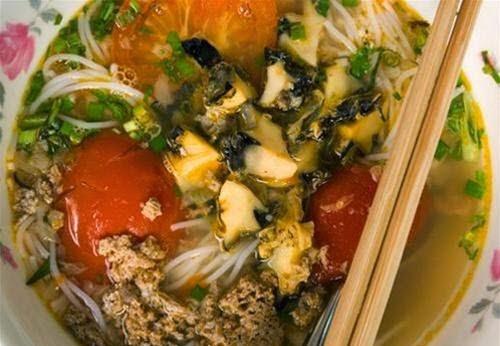 Vietnamese Snail Noodle Soup (Bún Ốc)