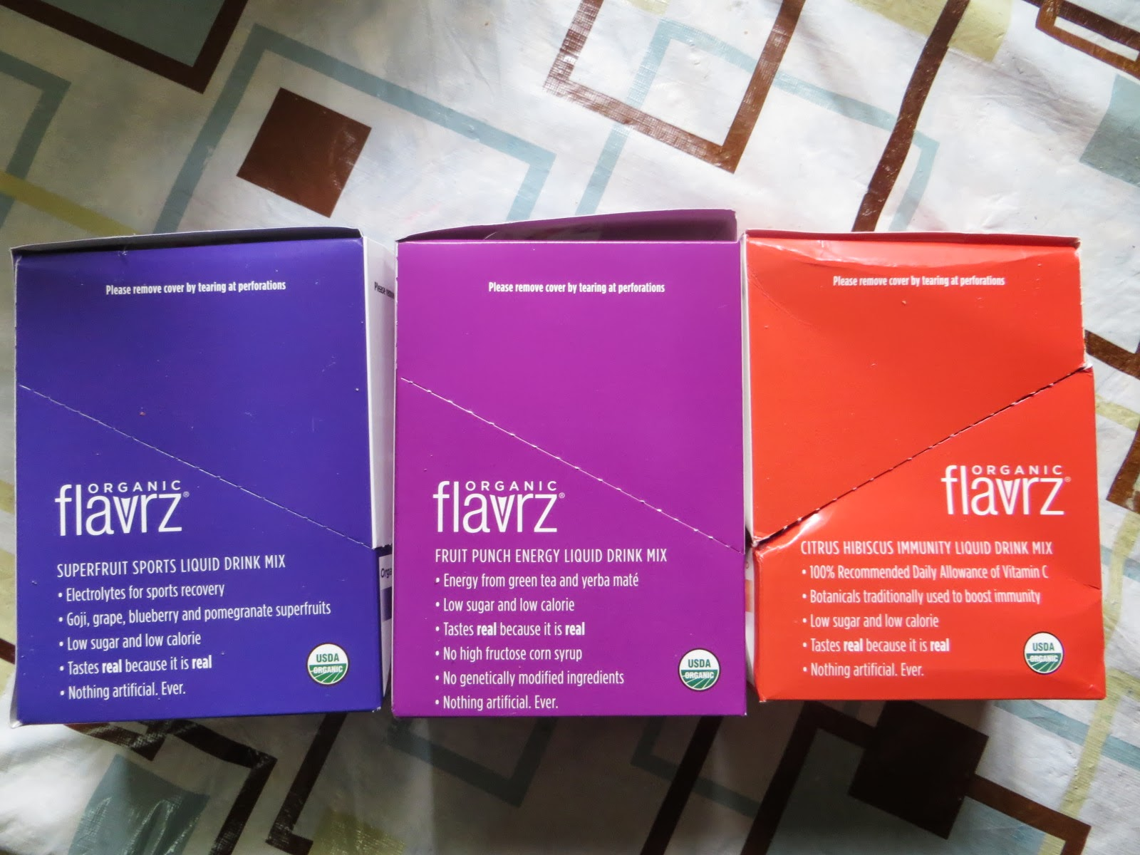 Flavrz Organic Drink Review