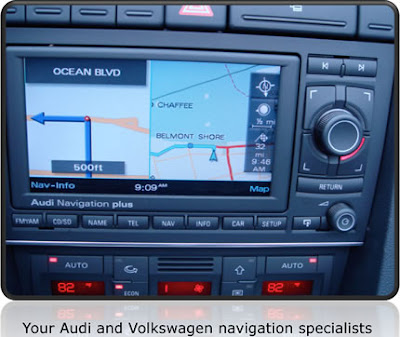 Audi Navigation System Manuals - Operating Instruction