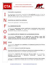 C.T.A. INFORMA, LO REALIZADO EN JULIO DE 2019