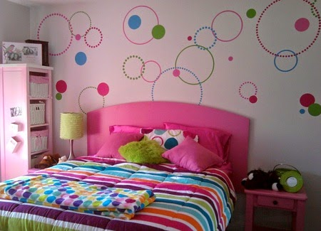 desain kamar tidur anak perempuan minimalis terbaru