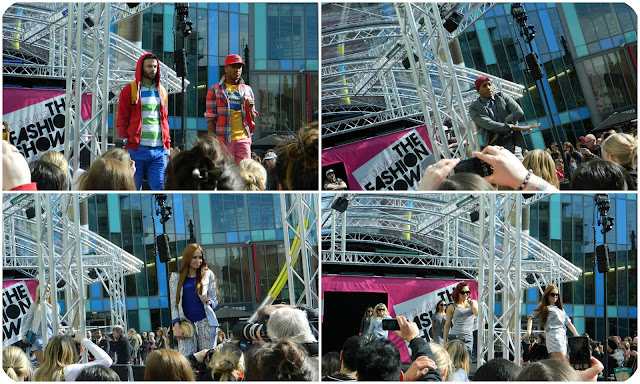 outdoor fashion show in cardiff