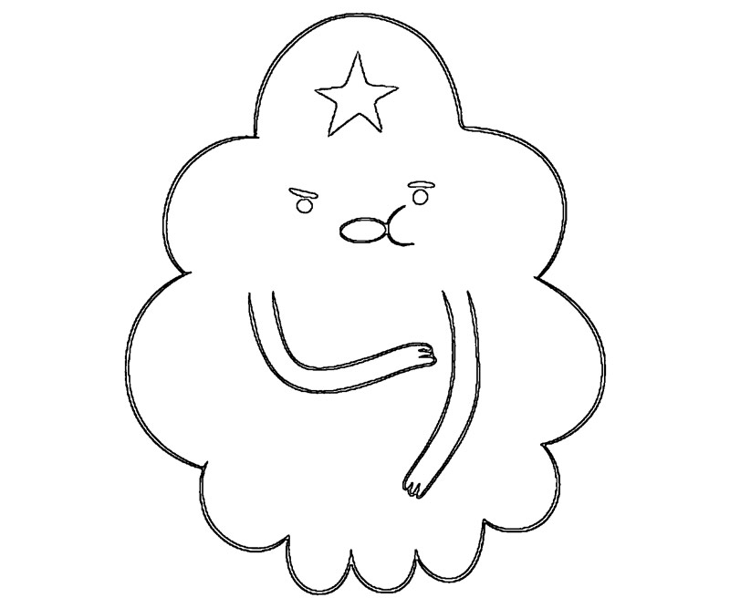 Lumpy Space Princess Free Coloring Pages Lumpy Space Princess Coloring Pages Printable