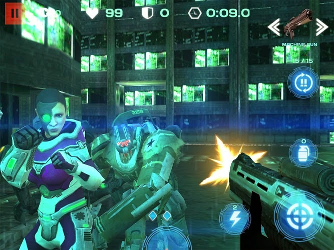 Modern Frontline: FPS Shooter Gameplay Android