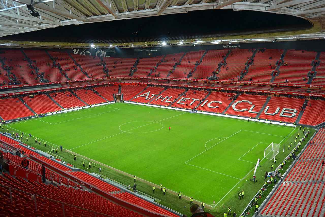 Estadio de San Mamés - Athletic de Bilbao - Fotografía: Euskaldunaa (cc:by-sa)