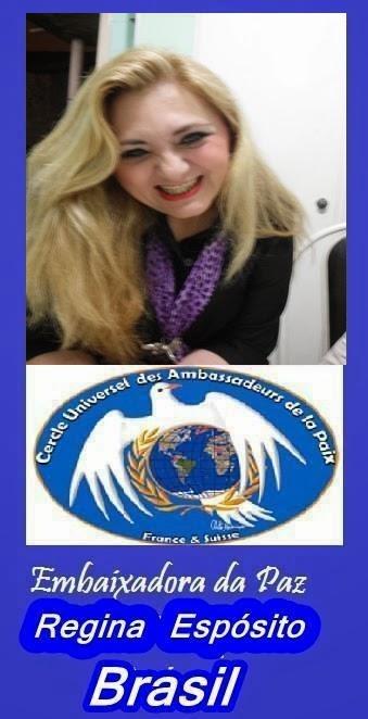 Embaixadora da Paz com muita honra!