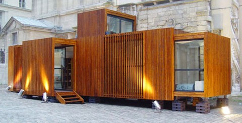 Mcompany style vivir en un contenedor living in a - Contenedores para vivir ...