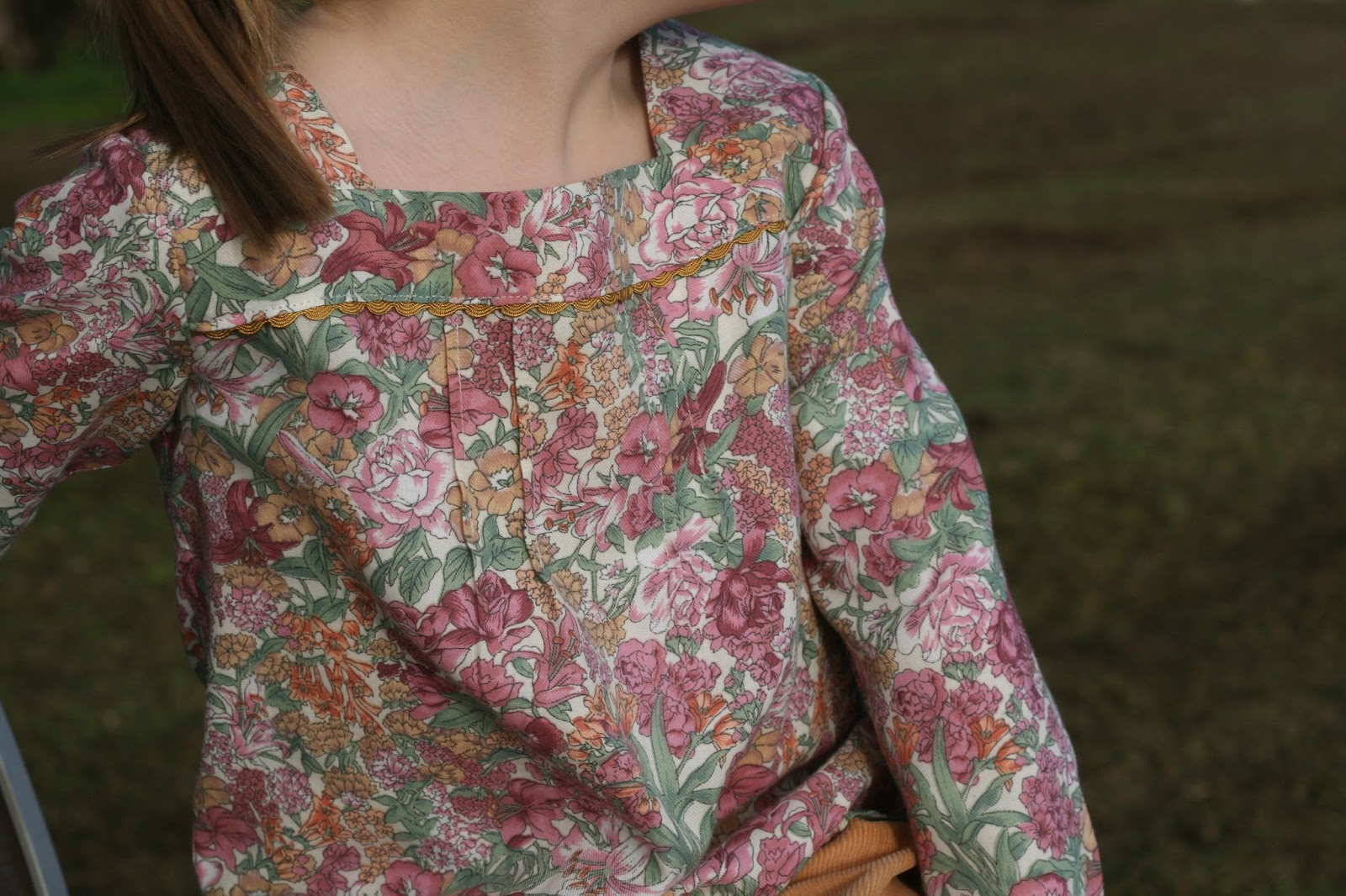 """Flip this Pattern"": Oliver and S, Croquet Dress {sewn by While She Was Sleeping}"