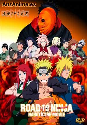 Ver online descargar Naruto Shippuuden Pelicula 6: Road to Ninja sub español