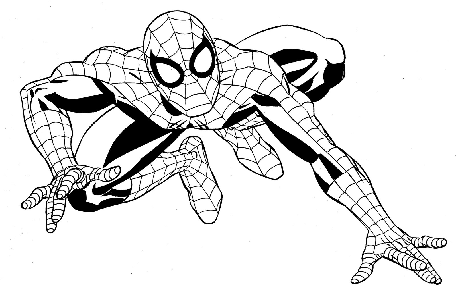 marvel superheroes coloring pages - photo#1