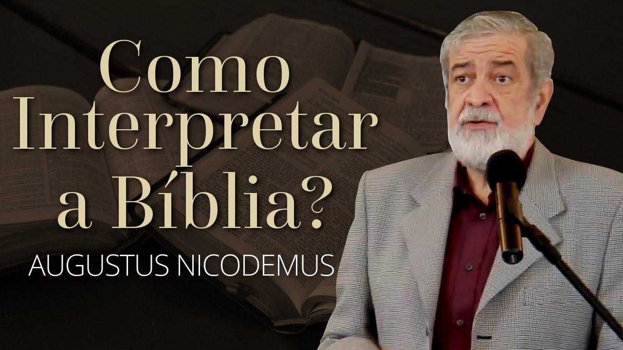 Aprenda como interpretar a Bíblia