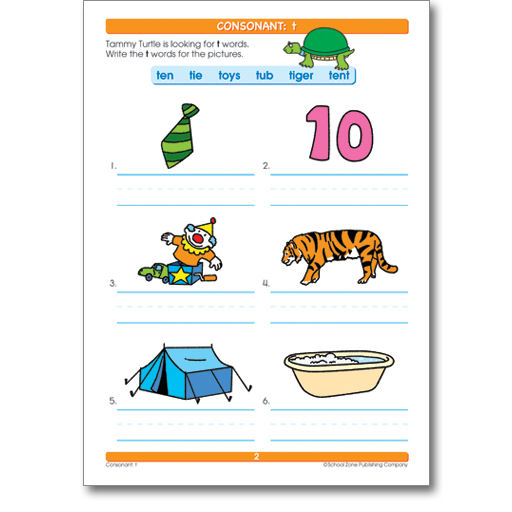 Worksheet School Zone Publishing Worksheets over thirty mommy get a leg up with school zones big spelling 1 perforated pages great for use as individual tear out worksheets wide range of words pictures and word pictures