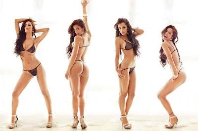 Larissa Riquelme varias poses