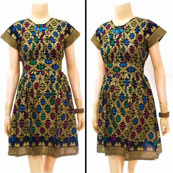 Dress Batik Motif Prada