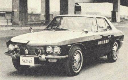 Nissan Silvia CSP311, policja, police car, oldschool, klasyczny, 日本車、スポーツカー