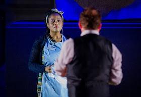 Gwenneth-Ann Jeffers, Peter Auty  - Aida - Opera Holland Park - photo Robert Workman