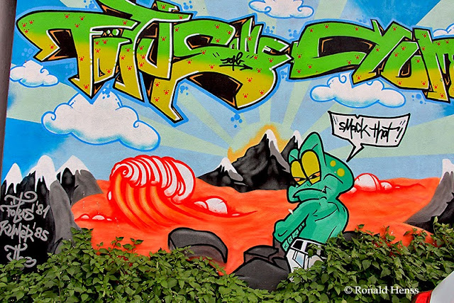 Saarbrücken Kunst Graffiti Ver.di