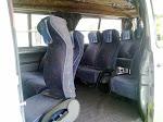 vvip 11 voggel seat van with karaoke sistem