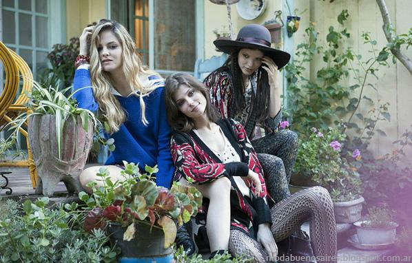 Rimmel otoño invierno 2014 ropa de mujer. Moda otoño invierno 2014. Moda casual juvenil.