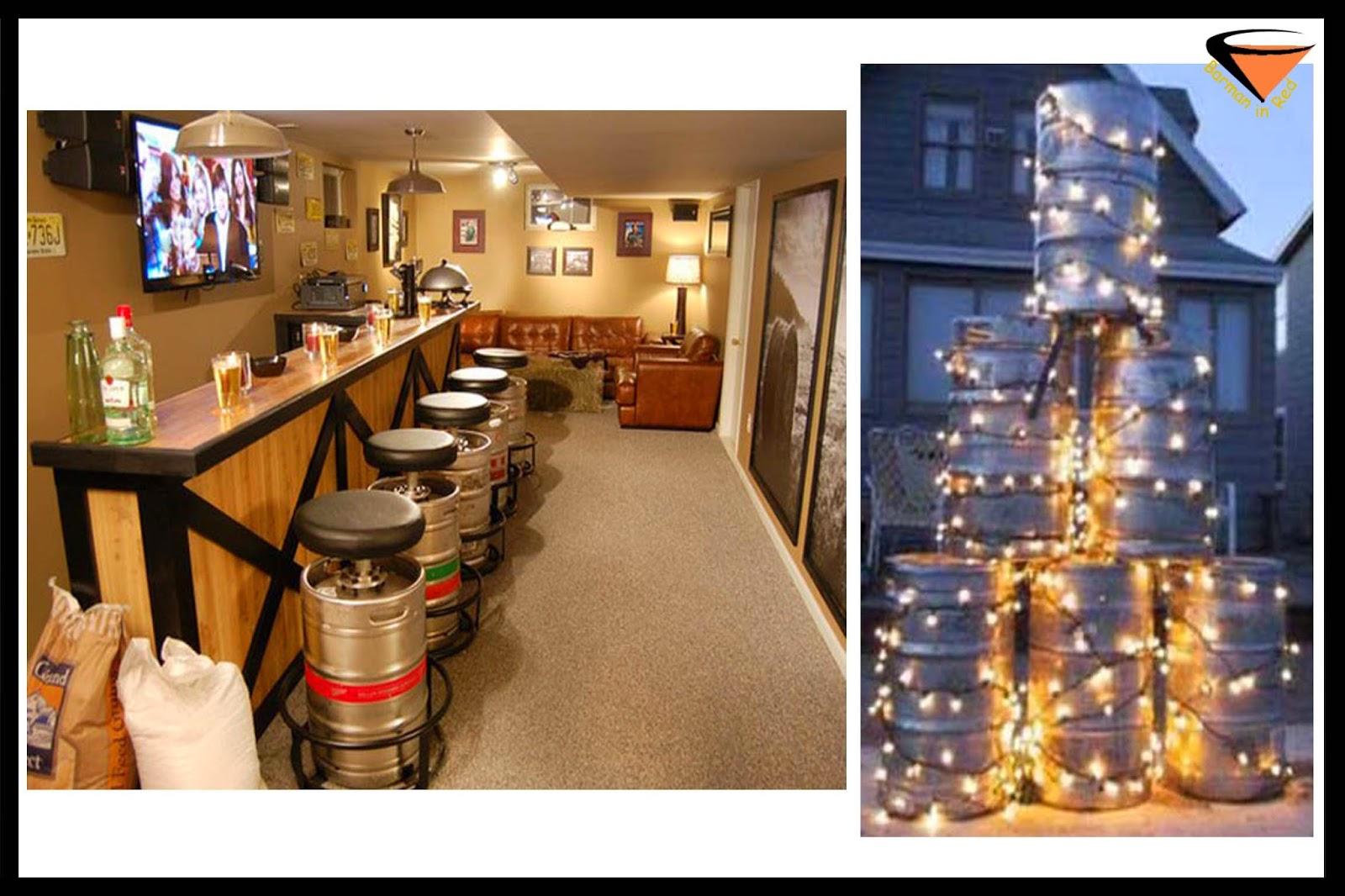 10 maneras de reciclar un barril de cerveza for Barriles de madera bar