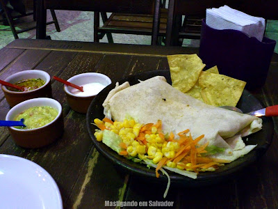 Tijuana Mexican Bar: Burrito de Carne moída