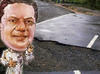 Carpet came off in my road like clothing- Minister Welgama