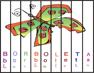 Mexe mexe borboleta - Quebra-cabeça