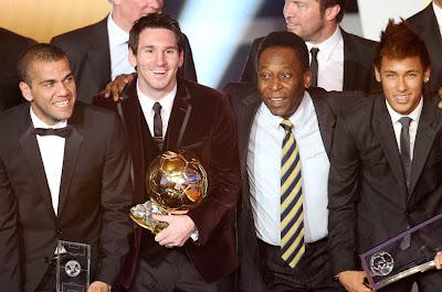 La FIFA ya tiene los nominados al Balón de Oro 2012