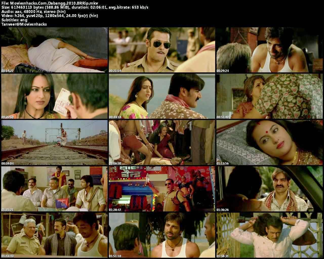 Dabangg (2010) 720p Bluray