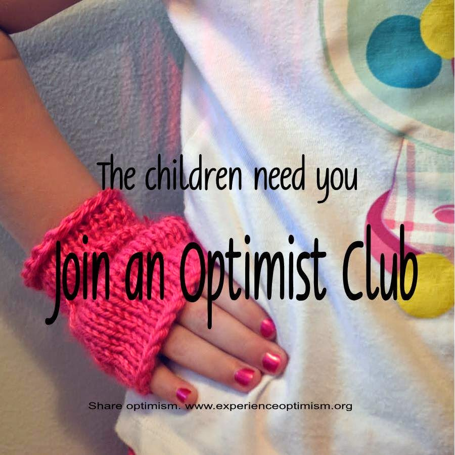 experienceoptimism.org join an optimist club